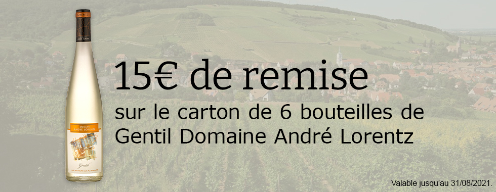 Offre Gentil Domaine André Lorentz
